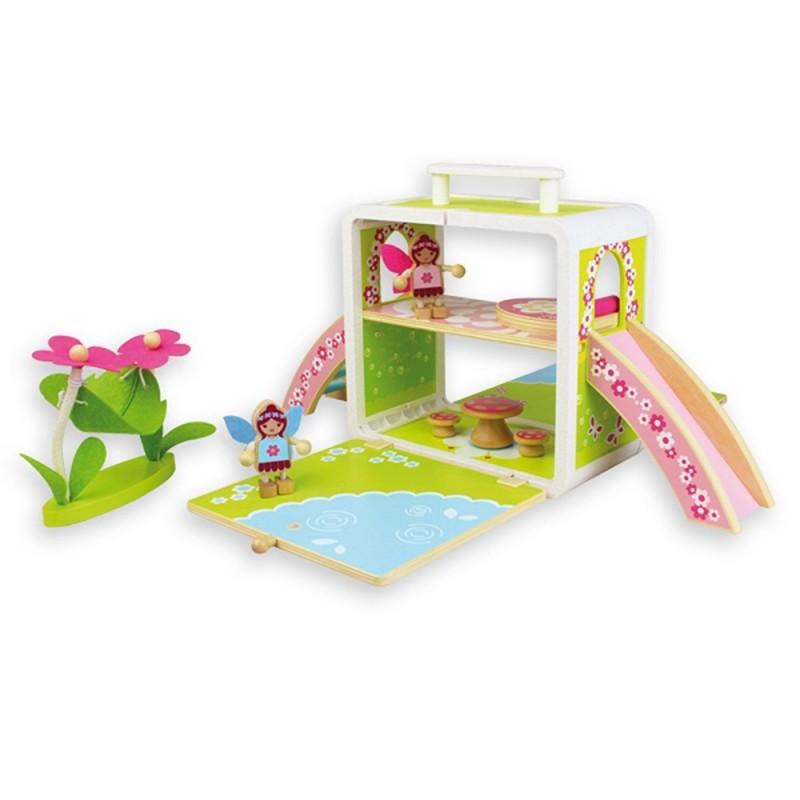 Andreu Toys Игрален комплект в куфарче, Къщата на феите