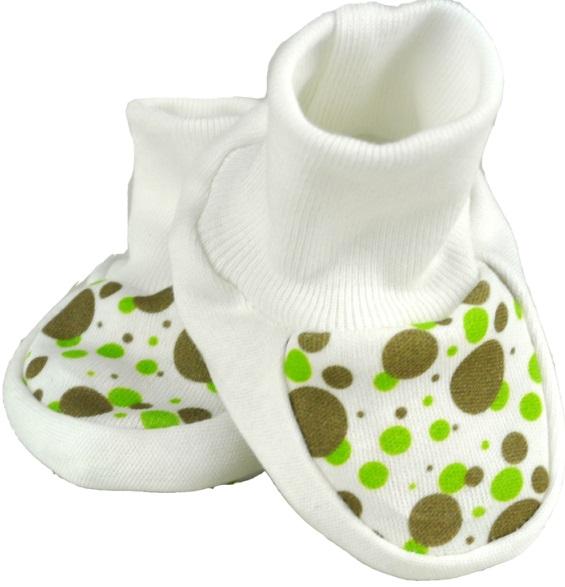d2db26ef126 For Babies Бебешки обувки с щампа - Зелени точки 00004 - 20 • Цена ...