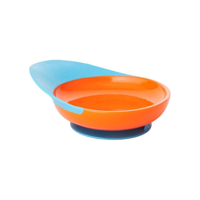 Boon Catch Купичка с прихващач за храна и вакуум Оранжева