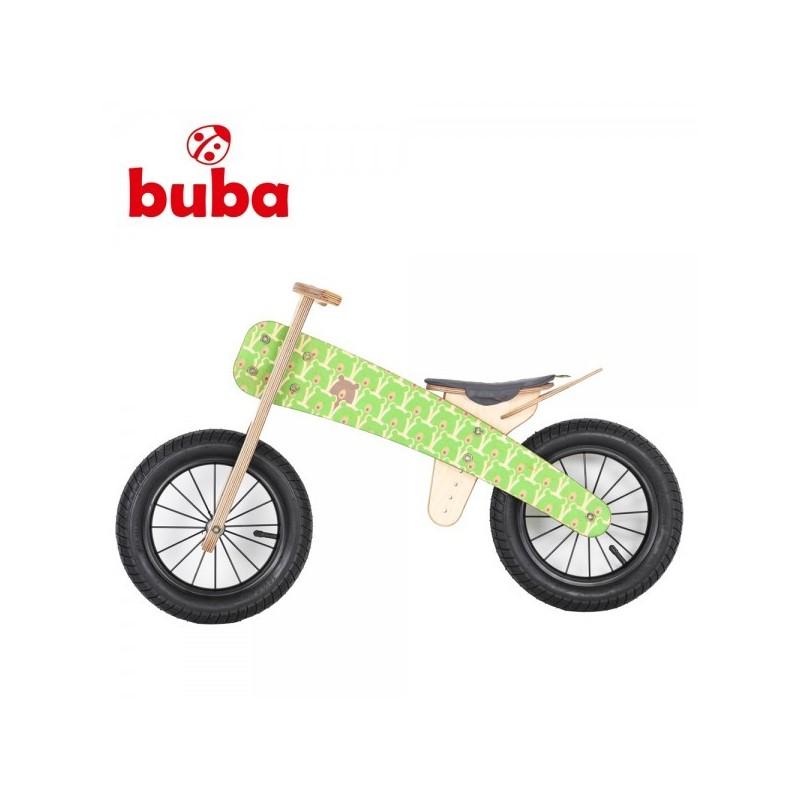 Buba Explorer mini Колело за балансиране със зелена седалка