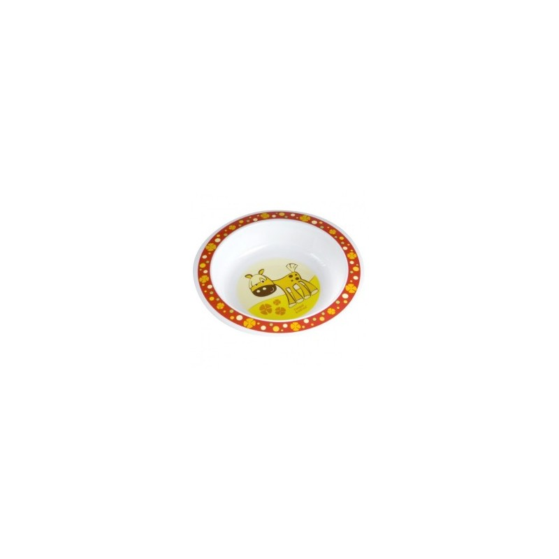 Canpol Пластмасова кръгла купа Крава