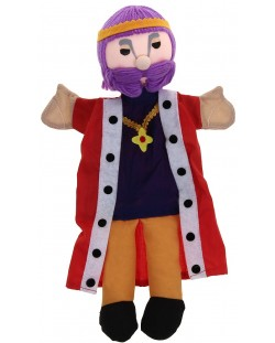 Кукла-ръкавичка Andreu Toys - Цар