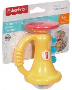 Бебешка играчка за дъвчене Fisher Price - Тромпет