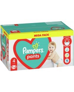 Бебешки пелени гащи Pampers 4, 108 броя