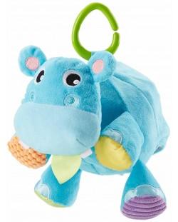 Бебешка играчка Fisher Price  - Хипопотамче, 2 в 1