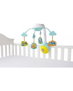 Бебешка музикална въртележка Bright Starts - Safari 2-in-1