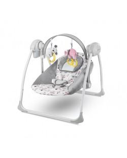 Бебешка люлка 2 в 1 KinderKraft Flo - Розова