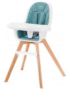 Столче за хранене 2 в 1 KinderKraft Tixi - Тюркоаз
