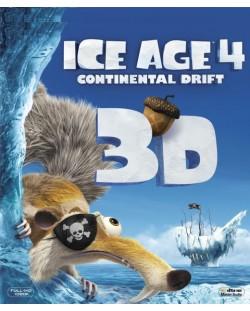 Ледена епоха 4: Континентален дрейф 3D (Blu-Ray)