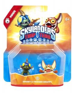 Фигура Skylanders Trap Team - Drobit & Trigger Snappy (Minis)