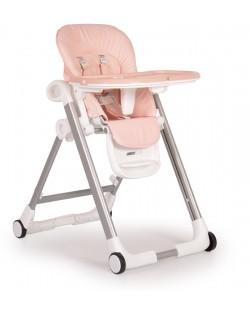 Столче за хранене Cangaroo - Brunch, Розово