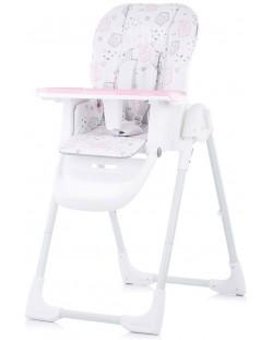 Столче за хранене Chipolino - Sweety, розово