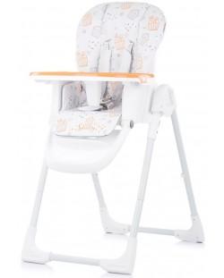 Столче за хранене Chipolino - Sweety, оранжево