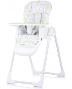 Столче за хранене Chipolino - Sweety, зелено