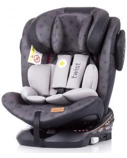 Столче за кола Chipolino - Туист, с IsoFix, 0-36 kg, сиво
