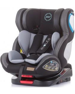 Столче за кола Chipolino - Evolute 360, 0-36 kg, с Isofix, асфалт