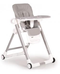 Столче за хранене Cangaroo - Brunch, Сиво