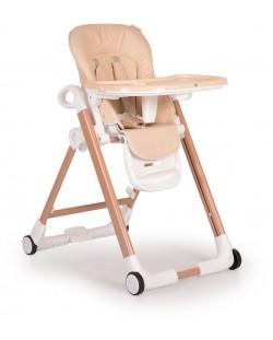 Столче за хранене Cangaroo - Brunch, Бежово