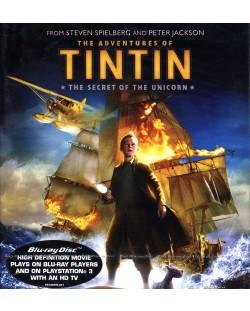 Приключенията на Тинтин 3D + 2D (Blu-Ray)