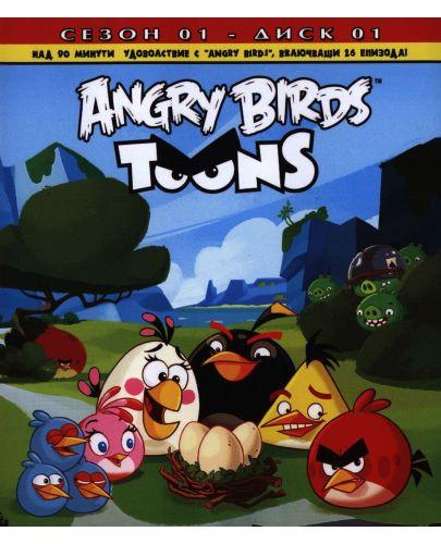 Angry Birds Toons: Анимационен сериал, сезон 1 - диск 1 (DVD) - 1