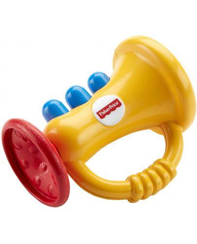Бебешка играчка за дъвчене Fisher Price - Тромпет - 2