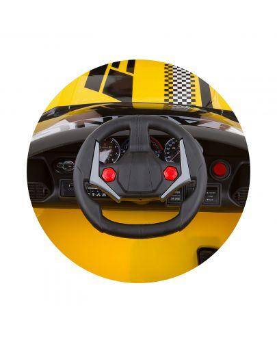 Акумулаторна кола Chipolino - Формула, жълта - 6
