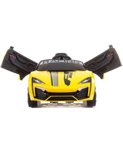 Акумулаторна кола Chipolino - Формула, жълта - 2