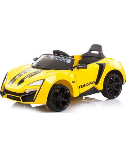 Акумулаторна кола Chipolino - Формула, жълта - 1