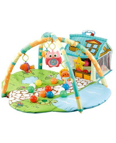 Активна гимнастика Moni - Happy Farm, зелена - 1