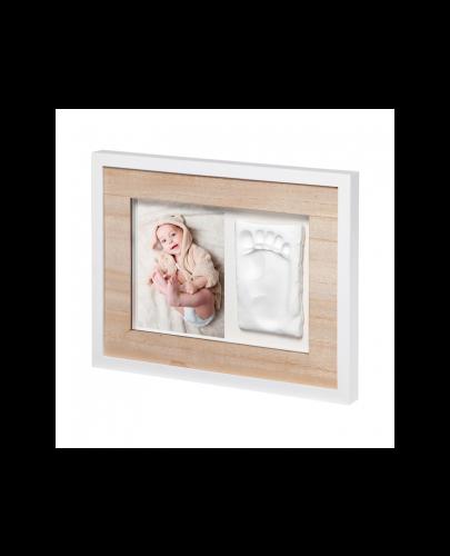Отпечатък със снимка Baby Art - Wall Print Tiny Style Wooden - 1
