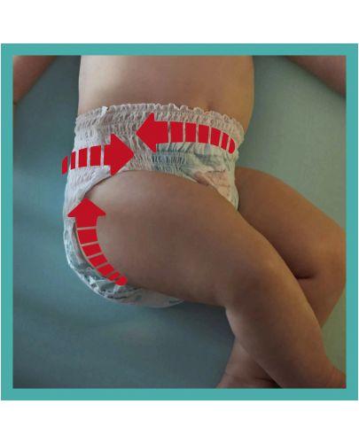 Бебешки пелени гащи Pampers 4, 108 броя  - 6
