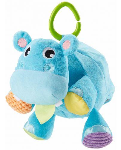 Бебешка играчка Fisher Price  - Хипопотамче, 2 в 1 - 1