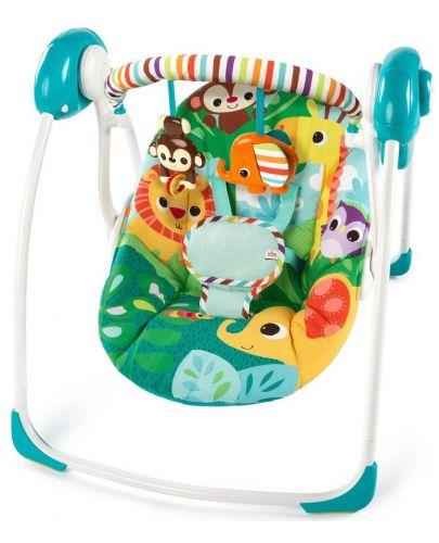 Бебешка електрическа люлка Bright Starts Safari Surprise - 1