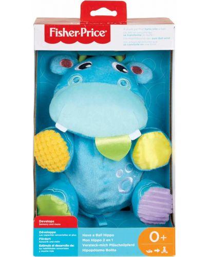 Бебешка играчка Fisher Price  - Хипопотамче, 2 в 1 - 5