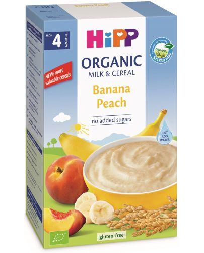 Био млечна инстантна каша Hipp Лека нощ - Банан и праскова, 250 g - 1