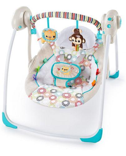 Бебешка люлка Bright Starts - Petite Jungle - 1