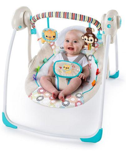 Бебешка люлка Bright Starts - Petite Jungle - 2