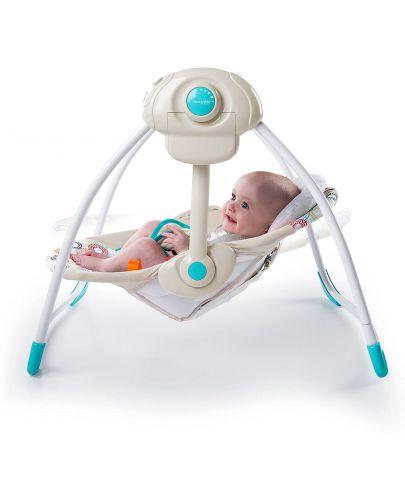 Бебешка люлка Bright Starts - Petite Jungle - 3