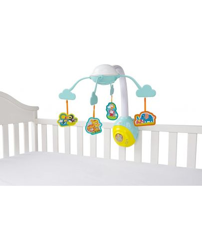Бебешка музикална въртележка Bright Starts - Safari 2-in-1 - 1
