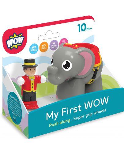 Детска играчка WOW Toys - Слончето Ели и нейният дресьор - 2