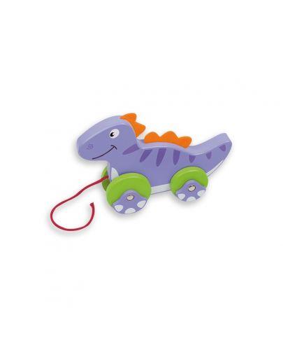 Динозавърче за дърпане - 1