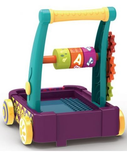 Играчка за бутане колела и кубчета Chipolino - 3