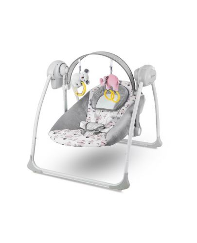 Бебешка люлка 2 в 1 KinderKraft Flo - Розова - 1