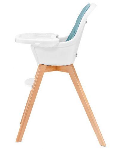 Столче за хранене 2 в 1 KinderKraft Tixi - Тюркоаз - 5