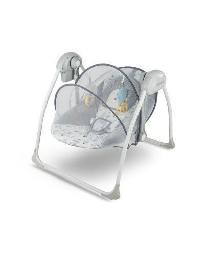 Бебешка люлка 2 в 1 KinderKraft Flo - Розова - 4