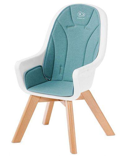 Столче за хранене 2 в 1 KinderKraft Tixi - Тюркоаз - 6