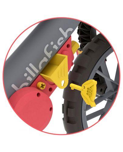 Колело за баланс Chillafish - Bmxie Moto, Червено - 3
