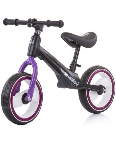 Музикално колело за баланс Chipolino - Energy, лилаво - 1