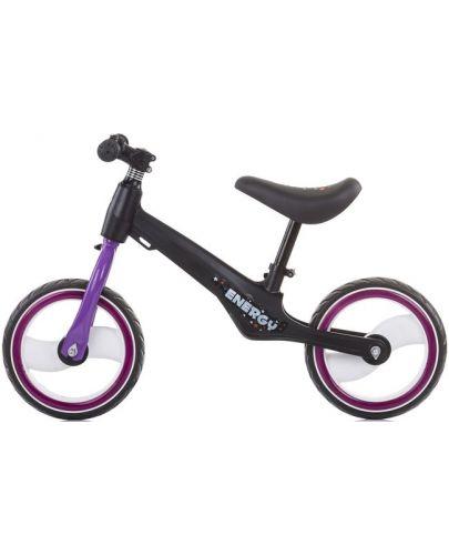 Музикално колело за баланс Chipolino - Energy, лилаво - 2