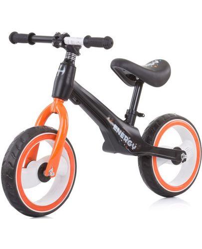 Музикално колело за баланс Chipolino - Energy, оранжево - 1